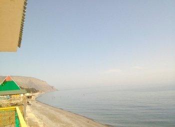 Гостевой дом в Морском на самом берегу моря