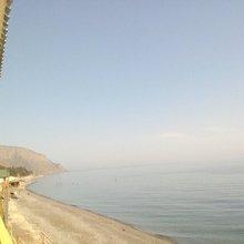 Гостевой дом Джелип в Морском 1-я линия на самом берегу моря