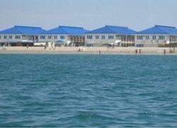 Эллинги на берегу моря в Крыму Прибрежное