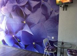 Однокомнатная студия с кухней балконом в Кастрополе Береговое Терраса с мебелью и мангалом